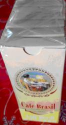 CIGARRILHA CAFE BRASIL c/Piteira- box com 10 caixas com 5 cigarrilhas  cada