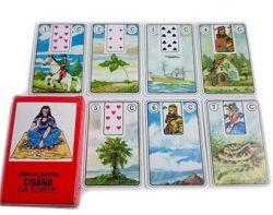 CARTAS-Jogo de Cartas Cigana da Sorte