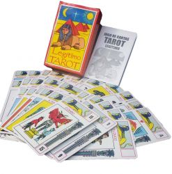 Tarot Legitimo Egípcio - Com Manual Incluso   40 CARTAS