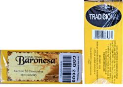 Charutinhos   Baronesa Sem Piteira   Cx.  COM 50 Un.