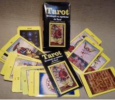 TARÔS E BARALHOS - KIT C/ 4 + 1 BARALHO  SURPRESA - LEVE 5 E PAGUE 4