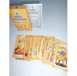 O  TAROT DOURADO    contém 24 cartas mais manual