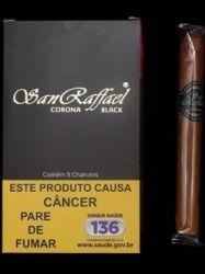CHARUTO SAN RAFFAEL   CORONA BLACK CHOCOLATE      CAIXA COM 5PEÇAS